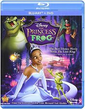 The Princess and the Frog [Blu-ray + DVD, Disney Movie, Region A, 2-Disc] NEW