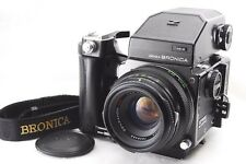 EXC++! ZENZA BRONICA ETR S AE-II Finder, Grip, Zenzanon MC 75mm  From Japan #653