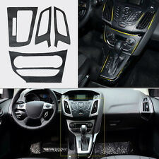 New Car Interior Console Carbon SWITCH PANEL COVER TRIMFor 2012-2013 Ford Focus