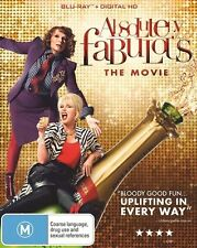 Absolutely Fabulous - The Movie (Blu-ray, 2016) NEW