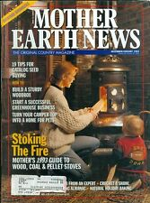 1993 Mother Earth News Magazine #135: Stoking the Fire/Seed Buying/Build Woodbox