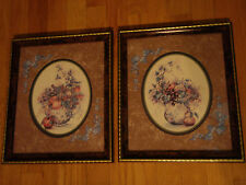 Home Interior Set of 2 pictures Jug with fruit and leaves by F Buckley (Reduced