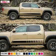 Decal Sticker Vinyl Side Stripes for Toyota Tacoma 2005-2017 Sport Kit Door 4x4
