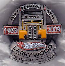 9Hot Wheels 2009 Larry Wood 1969-2009 Dinner Lapel Pin