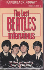 Beatles The Lost Beatles Interviews Paperback Audio Cassette Still Sealed USA