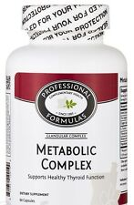 METABOLIC COMPLEX HEALTHY THYROID SPEED UP METABOLISM BOOSTERS INCREASING CELL