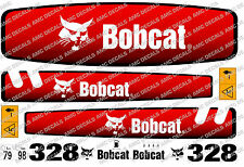 BOBCAT 328 MINI PELLE DECAL SET