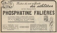 Y8927 Farine alimentaire PHOSPHATINE FALIERES - Pubblicità d'epoca - 1929 Old ad