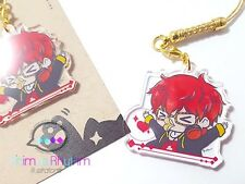 Crystal Clear Acrylic straps charm Mystic Messenger 707 Luciel Seayoung app game