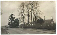 British Rural Street Scene Poss Nottinghamshire PC, Houses to Right, Car GRR 132