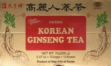 100 Count Prince Of Peace Instant Korean Panax Ginseng Tea