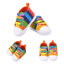 Newborn Infant Toddler Baby Boy Girl Soft Sole Crib Shoes Sneaker Prewalkers 11