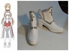 Sword Art Online Asuna Yuuki Cosplay Costume Boots Boot Shoes Shoe