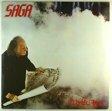 "12"" LP - Saga  - Worlds Apart - #A3161 - washed & cleaned"