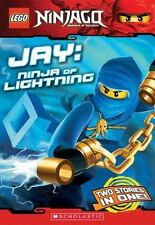 LEGO Ninjago Chapter Book: Jay, Ninja of Lightning, Farshtey, Greg, Good Book