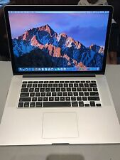 "APPLE MacBook Pro Retina 15"" Mid 2014  i7 2.2GHz16GB 251GB SSD Warr/Oct 2017"