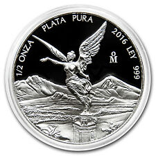 2016 Mexico 1/2 oz Silver Libertad Proof (In Capsule) - SKU #98614