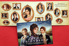 LOVE & FRIENDSHIP FILM FLYER KATE BECKINSALE XAVIER SAMUEL CHLOE SEVIGNY