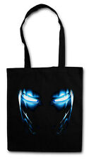 MARK II EYES HIPSTER BAG - Stofftasche Stoffbeutel Jutebeutel - Iron Movie Man