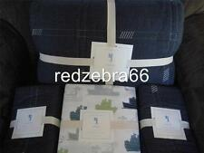 Pottery Barn Kids Easton Full Quilt Shams Tugboats/Boats Sheet Set 7-pc NEW Ship