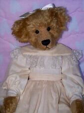 "RARE 1983 Bar Harbor Bears ""CASSIE"" 16.5"" by Marcia Sibol bear Delaware #2 / 6"