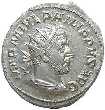 Philip I The Arab 244-249 AD Antoninianus Felicitas Roman Christian Emperor
