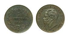pcc1566_2) Regno d Italia Vittorio Emanuele II  Centesimi 1 Valore 1867