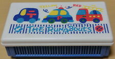 1988 Vintage Sanrio The RunABouts Foldable Lunch Box/Sandwich Case*Made in Japan