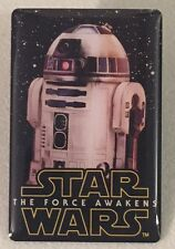 2015 Brand New Star Wars The Force Awakens Limited Edition Bell Pin R2-D2 RARE