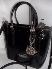 NEW GUESS LADIES MINI DELANEY BAG BLACK COLOR