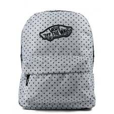 Vans Realm Zaino Blu wash twill Schoolbag v00nz0kk4 UK stockiest libero HARIBO