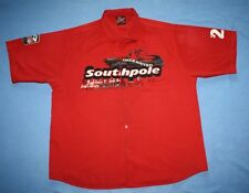 South Pole XXL button up short sleeve shirt Red TRUCK ROUTE 21