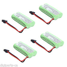 4x 2.4v 800mAh Home Phone Battery for Uniden BT-1021 BT-1025 BT-1008S BT-1008