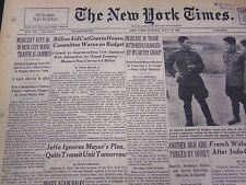 1953 JULY 19 NEW YORK TIMES - MERCURY HITS 96 TRAFFIC IS JAMMED - NT 4677