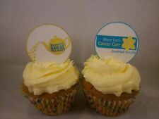 24 x Marie Curie Cancer Care Fairy Cup Cake Toppers Edible Wafer Paper