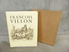 OEUVRES COMPLETES DE FRANCOIS VILLON. 1955. Ex. Num.