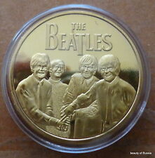 The Beatles  24KT GOLD MEMORABILIA COLLECTIBLE COIN  #33 se
