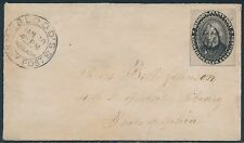 #15L18 ON COVER JAN 30,1860 WITH ENCLOSURE XF+ BS3188