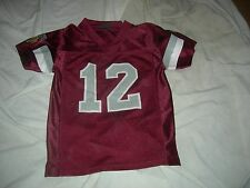 Montana Grizzlies #12 Youth sz7  Maroon Jersey CUSTOMIZE NAME $15 MORE,GR8 GIFT
