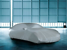 Indoor Garage & Showroom Soft Fabric Breathable Protection Dustcover Car Cover M