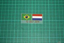 BRAZIL Vs HOLLAND World Cup 2014 Holland Away Shirt Match Details