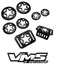 VMS DRIVING TAIL LIGHT GUARDS COVERS DRESS UP KIT JEEP WRANGLER & UNLIMITED JK