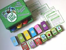 Leap Frog Game Chest Dominoes, Alphabet Go Fish, Math Rummy, Bilingual Memory