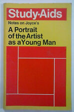 Notes on Joyce's A Portrait of The Artist as a Young Man Study-Aids Methuen 1976