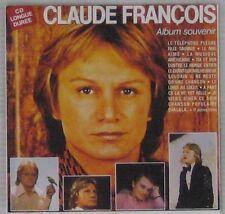Claude François CD Album Souvenir 1989