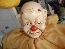 BRINN'S COLLECTIBLE LIMITED EDITION 341/5000 HAND MADE MUSICAL CLOWN DOLL