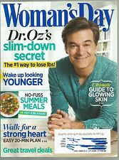 Woman's Day June 2013 Dr Oz's slim down secret/Wake up looking younger/Heart