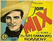 THE BIG DIAMOND ROBBERY Movie POSTER 27x40 Frank Beal Barney Furey Ernest