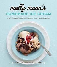 Molly Moon's Homemade Ice Cream: Sweet Seasonal Recipes for Ice Creams-ExLibrary