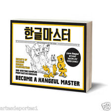 Become A Hangul Korean Master Book Read Write K-Pop Self Study English Version